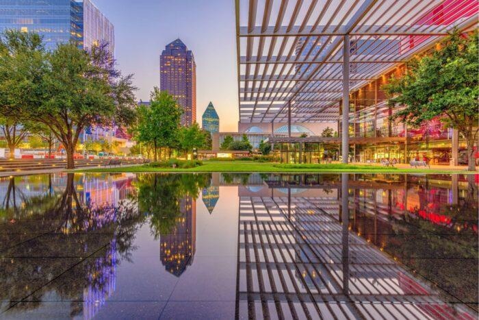 Plaza in Downtown Dallas