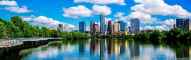 Skyline van Austin in Texas