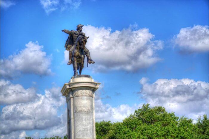 Standbeeld van Sam Houston