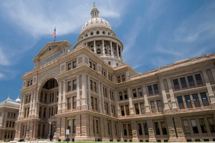 State Capitol gebouw van Austin