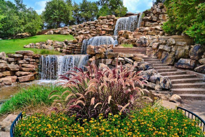 Watervallen in Wichita Falls