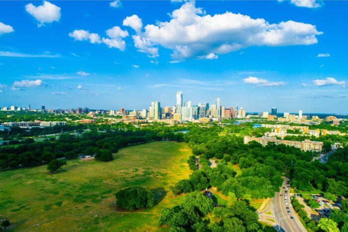 Zilker Metropolitan Park, het groene hart van Austin
