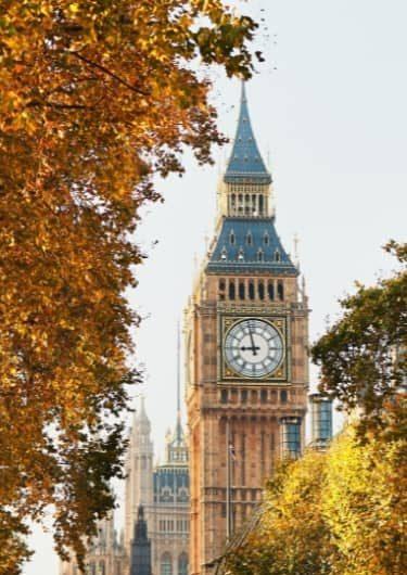 De Big Ben in Londen, Engeland