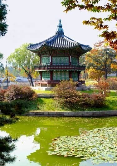 Tempel in Zuid-Korea